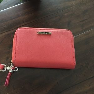 Stella and Dot Red Wristlet